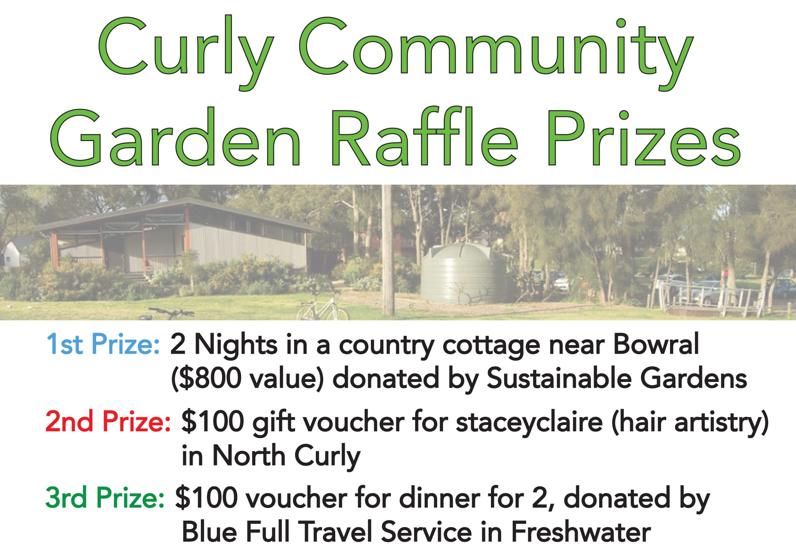 community garden raffle
