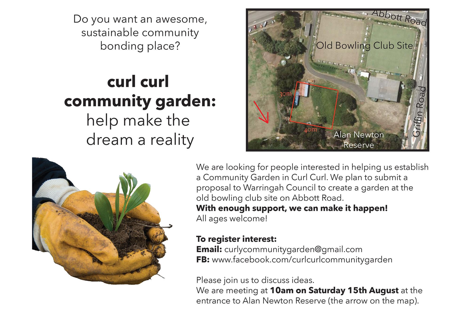 Curly Community Garden
